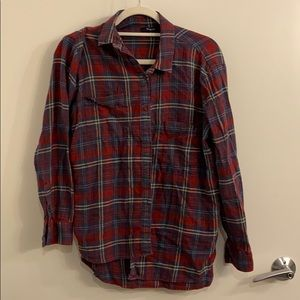 Madewell small flannel